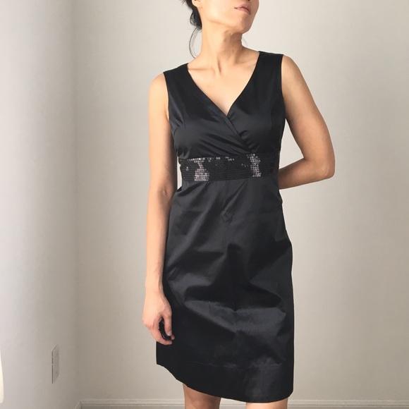 Elle Dresses & Skirts - New ELLE cocktail black sequin dress
